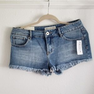 Bullhead denim low rise shorts